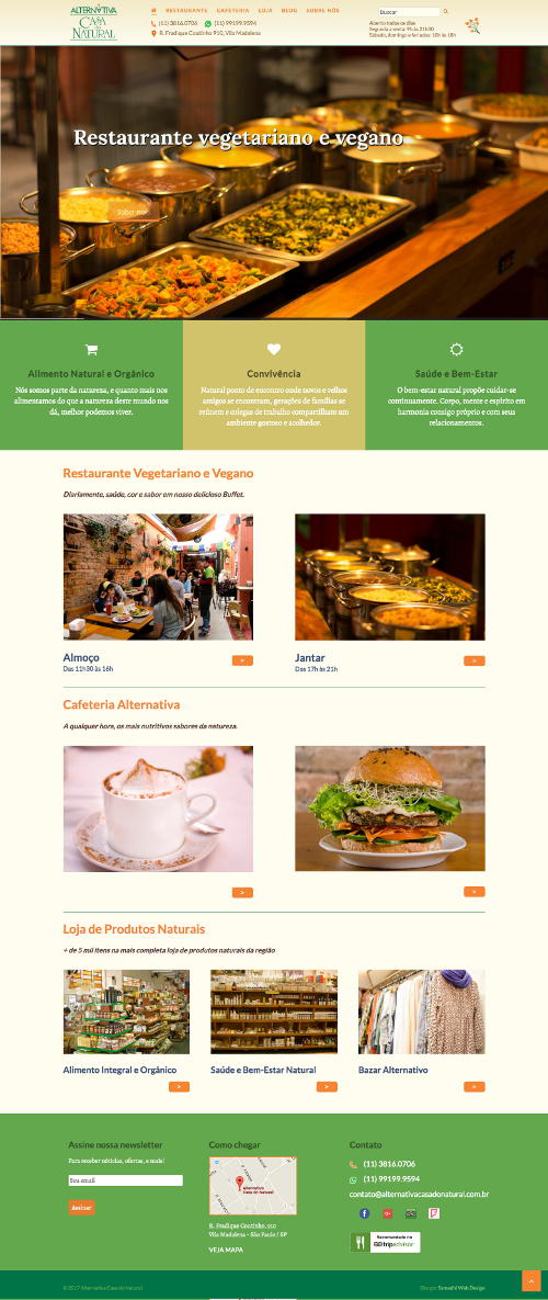 alternativacasadonatural.com.br - website by Samadhi Web Design - samadhiwebdesign.com