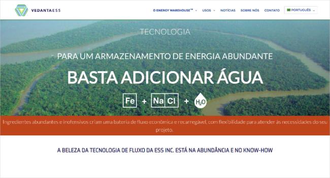 imagem do vedantaess.com.br